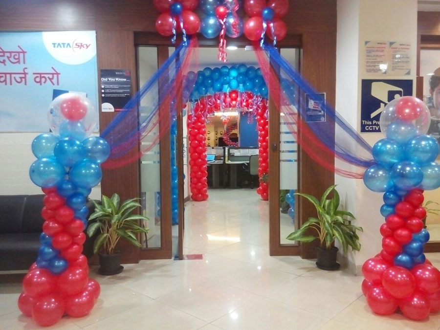 photogallery balloon decorators in mumbai balloon